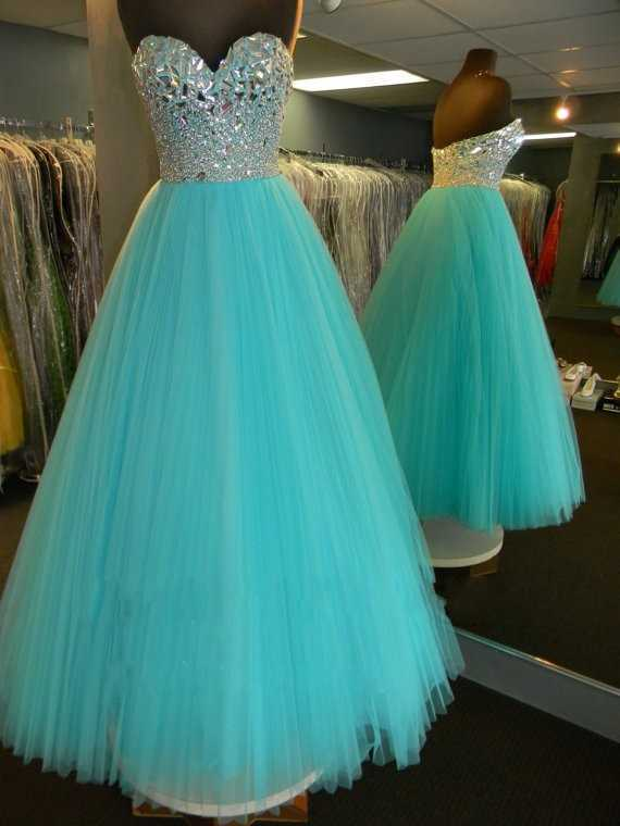 Vestidos de gala de muestra Real, corpiño con purpurina adorable, vestidos drapeados de diamantes de imitación con cuentas azules para fiesta de graduación Aqua, vestidos para graduación de niñas 2019