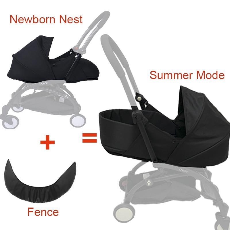 سلة نوم لعربة الأطفال من 0 إلى 6 أمتار ، عش الولادة لحديثي الولادة ، Babyzen Yoyo Yoya ، أكياس النوم الشتوية ، عربات الأطفال ، الملحقات