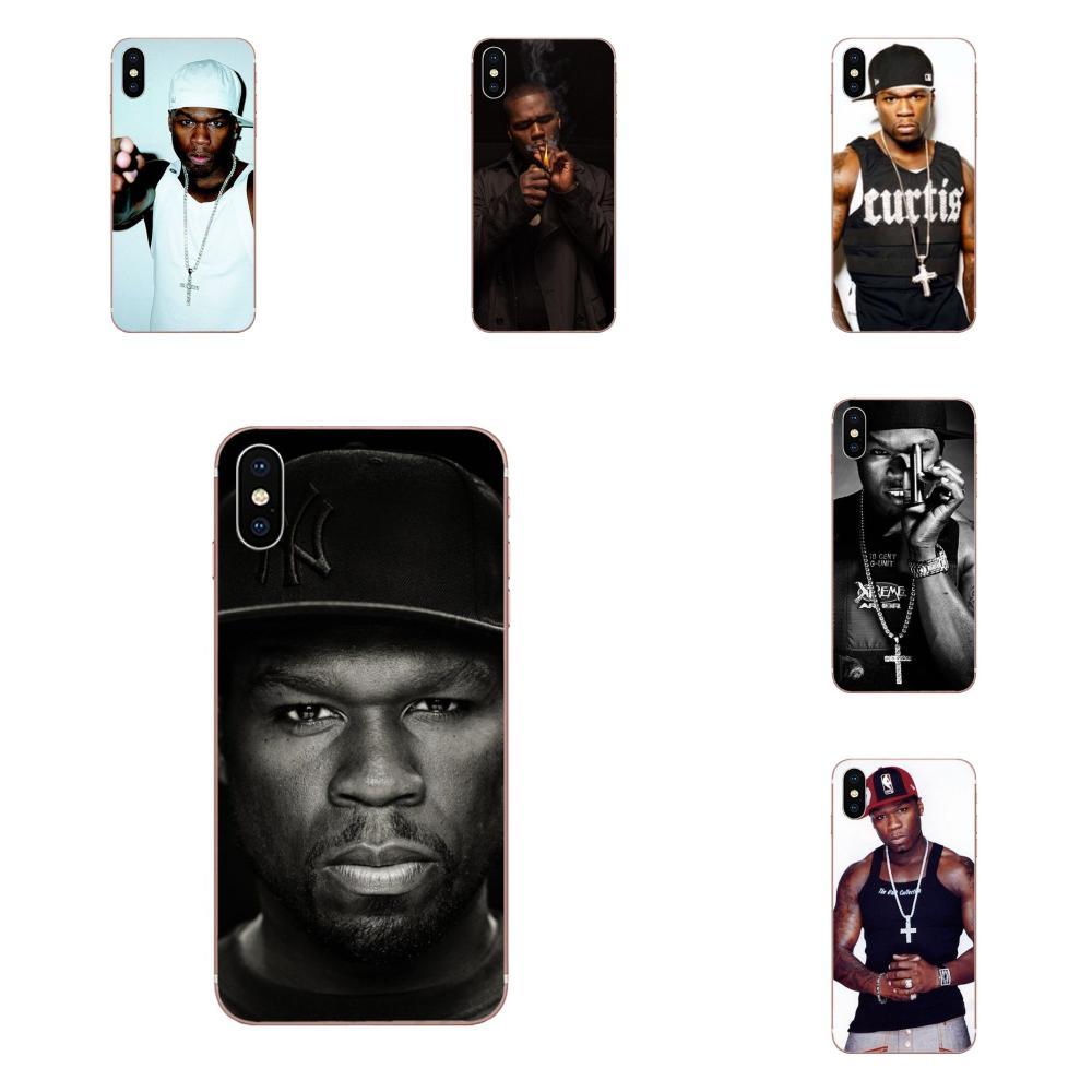 50 cento Rap Cantor Rapper Americano TPU Top Venda Para Galaxy J1 J2 J3 J330 J4 J5 J6 J7 J730 J8 2015 2016 2017 2018 mini Pro