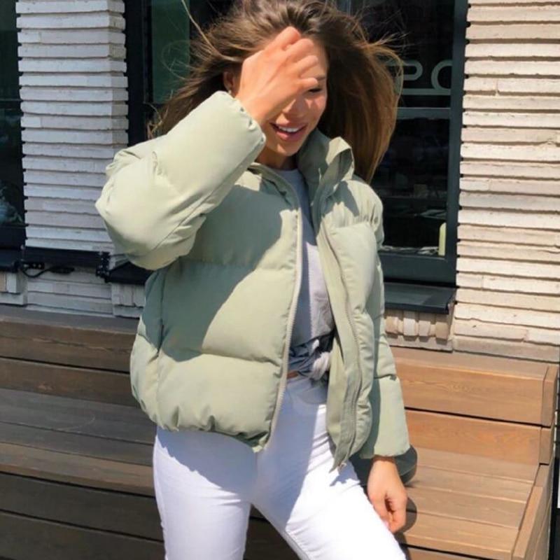 Helisopus Casual Cotton Thick Parka Overcoat Winter Warm Fashion Outerwear Coats Parkas Women Streetwear Jacket