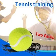 Singles Tennis Trainer Training Practice Ball Back Base Trainer Tennis solo tennis trainer тенисный мяч Dropshipping#A30