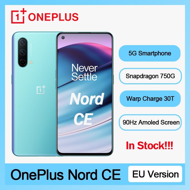 Смартфон OnePlus Nord CE, 2021 дюйма, 8 + 750 Гб, 90 Гц, 128 мАч