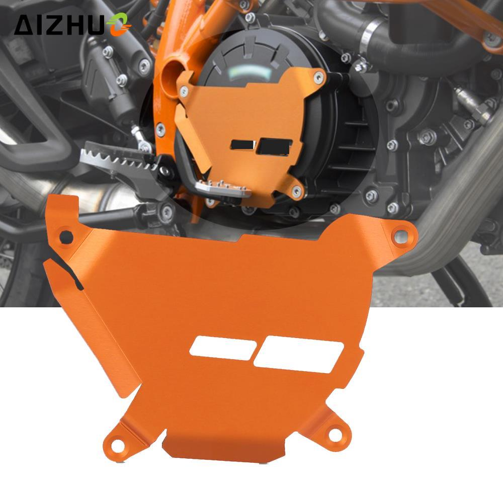 إكسسوارات الدراجات النارية غطاء محرك ألومنيوم ذو قابض جانبي لـ 1190 ADVENTURE 1050 1090 2013-2021 2014 2015 2016 2017