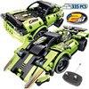 RC 2,4 Ghz RC coche de modo Dual Wrangler coche de carreras ladrillos bloques de construcción de la ciudad de técnica de Control remoto coche de juguete para los niños