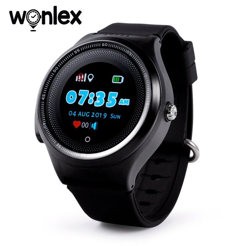 Wonlex kt06 smart-watch bebê redondo vibrar alarme hora 2g gps wifi localização rastreador crianças anti-perdido à prova dsos água sos-monitor relógios