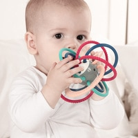 Детские игрушки 0-12 месяцев, детские погремушки для новорожденных, погремушка-грызунок, детские игрушки, обучающие мобильные игрушки для де...