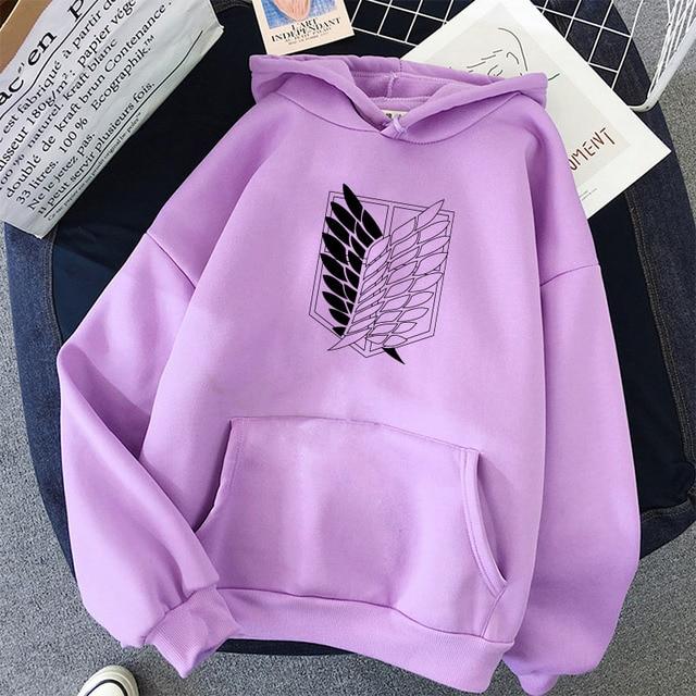 Fashion Hoodie Woman Harajuku Sweatshirt Female/Men Hoodies Japanese Anime Graphic Kawaii Piece Demon Slayer Clothes For Teens 6