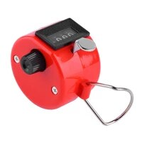 4 digit portable convenient plastic metal hand held tally counter manual palm clicker number counting golf