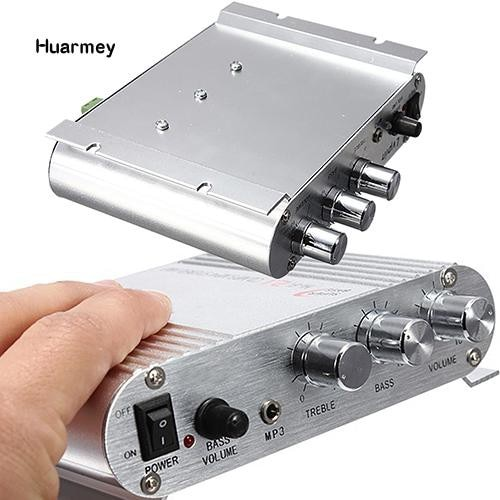 HiFi CD MP3 Radio Car Home Audio Stereo Bass Speaker Booster Amplifier enlarge