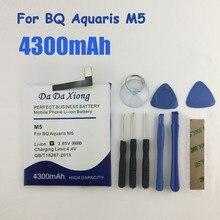 Wysokiej jakości 4300mAh 3120 M5 akumulator do BQ Aquaris 3120 M5 akumulator szybka dostawa