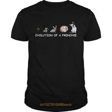 Men Tshirt Evolution of a Frenchie shirt
