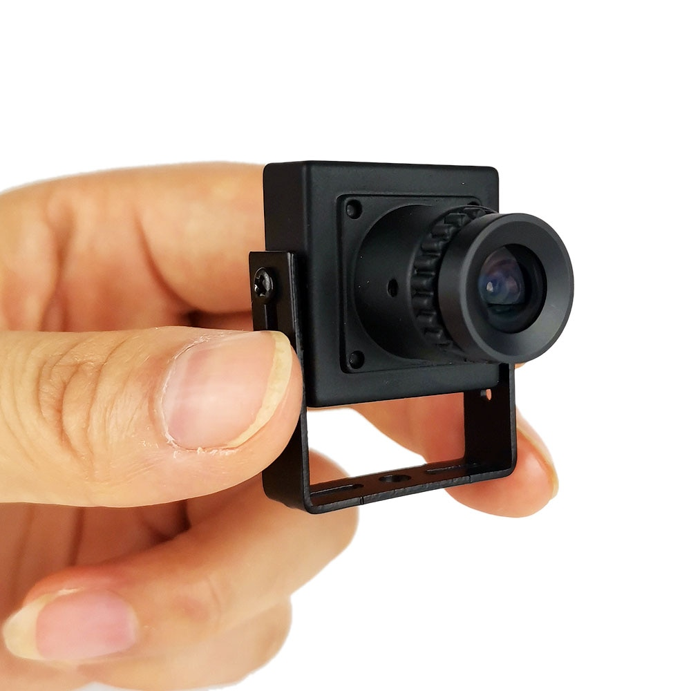 25x25mm süper Mini CCTV 1000TVL CMOS kamera 700tvl analog Metal gövde cctv güvenlik kamera