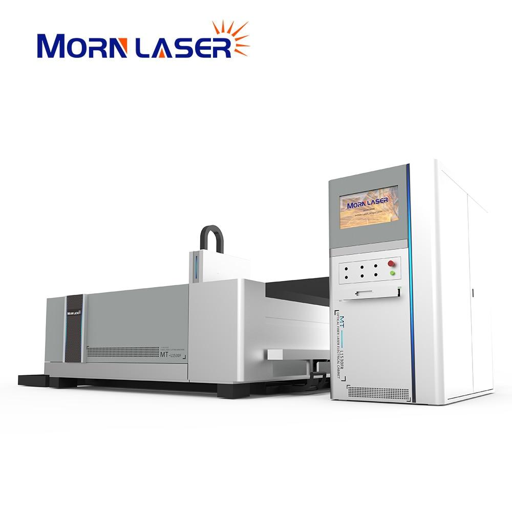 Станок для резки металлических пластин полная закрытая структура 6000W CNC станок для лазерной резки листового металла для металлических плас...