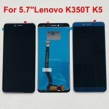 """الأصلي ونو ل 5.7 """"لينوفو K350T K5 شاشة LCD عرض محول رقمي يعمل باللمس لينوفو K350T K5"""