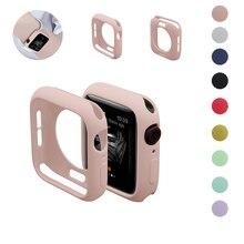 นาฬิกาสำหรับนาฬิกาApple 5/4/3/2/1 40 มม.44 มม.Scratch pinkycolorที่มีสีสันนุ่มสำหรับiWatch Series 3 Series 2 42 มม.38 มม.