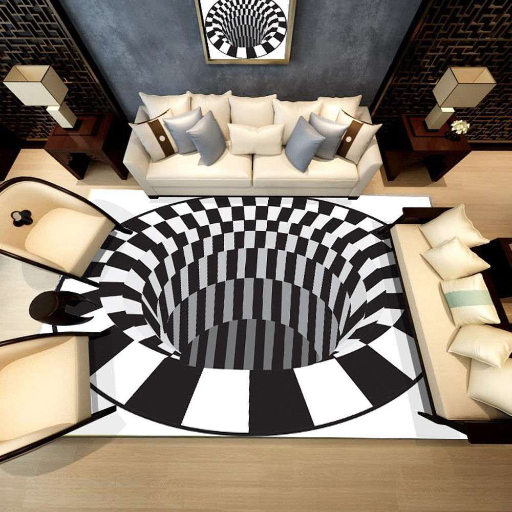 3D Anti-Slip Crystal Velvets Carpets Fit  Mats Suit Four Season Durable Bathroom Floor Kitchen Rugs 40x60/50x80/60x90/80x120cm