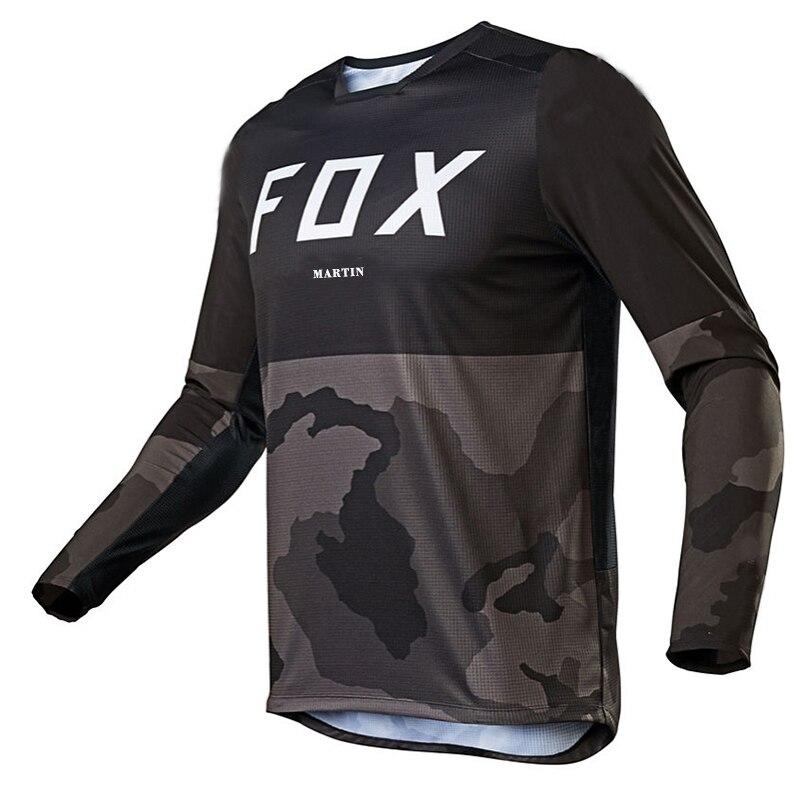 2020 motocross camiseta mtb jersey para descensos fxr ciclismo bicicleta de montaña...