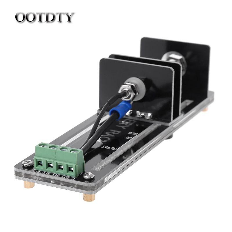OOTDTY 4 Fio de Teste de Teste de Capacidade de Resistência Da Bateria Celular Suporte Suporte Para 18650 26650 21700 AAA