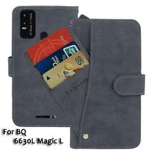 Leather Wallet BQ 6630L Magic L Case 6.53