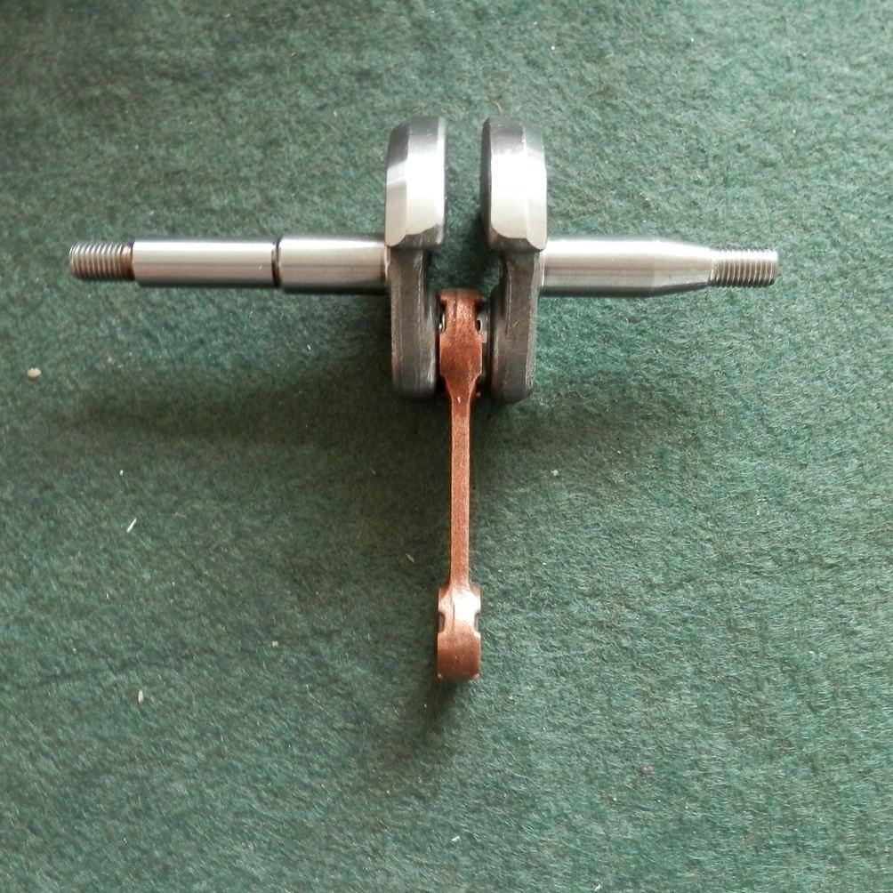 P350s virabrequim para poulan partner p351 350 pa350 p351 & mais chainserws manivela eixo principal frete grátis