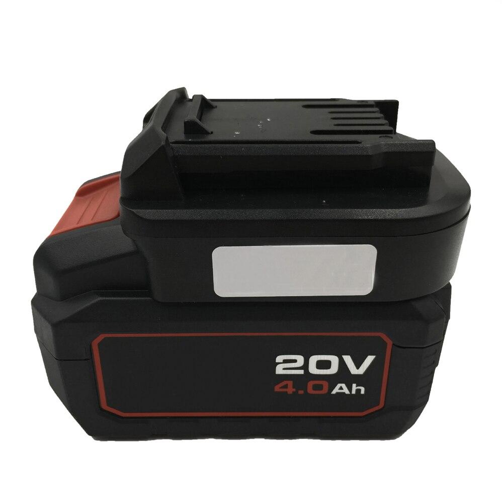 Adaptador convertidor de batería para la máquina verde de iones de litio de 20V de la máquina de perforación eléctrica del cuerpo accesorios para destornilladores