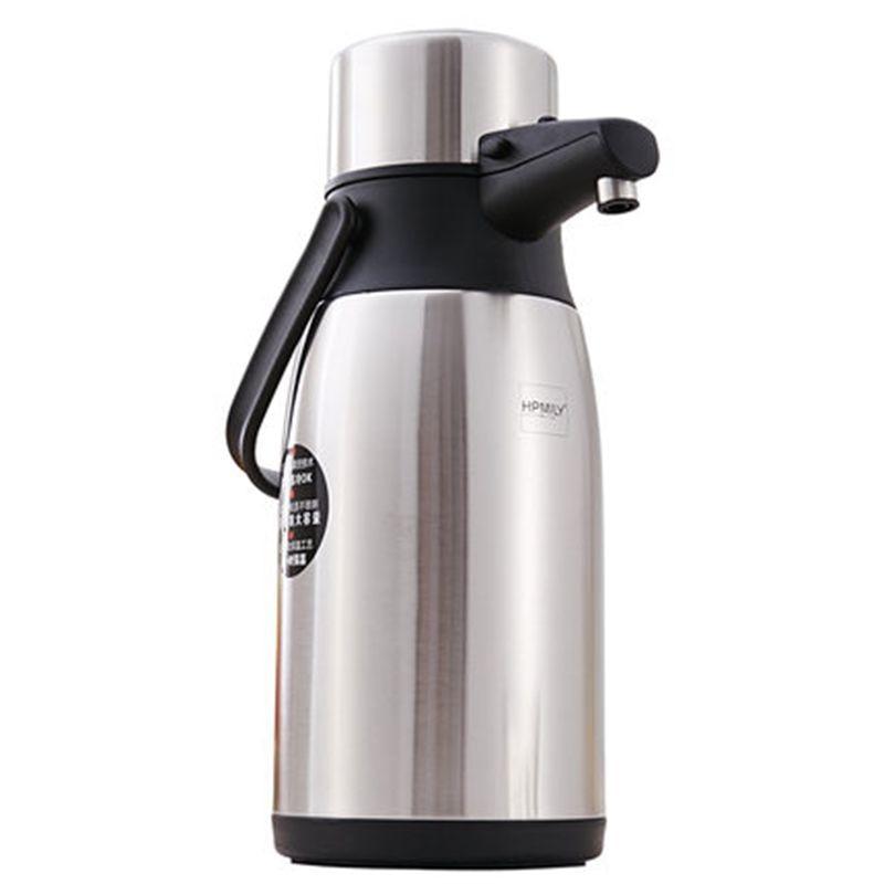 2.5L 3L الفولاذ المقاوم للصدأ معزول زجاجة تُرمُس كوب حراري إبريق قهوة الحرارية فراغ غلاية المياه ترموس تفريغ الحرارية