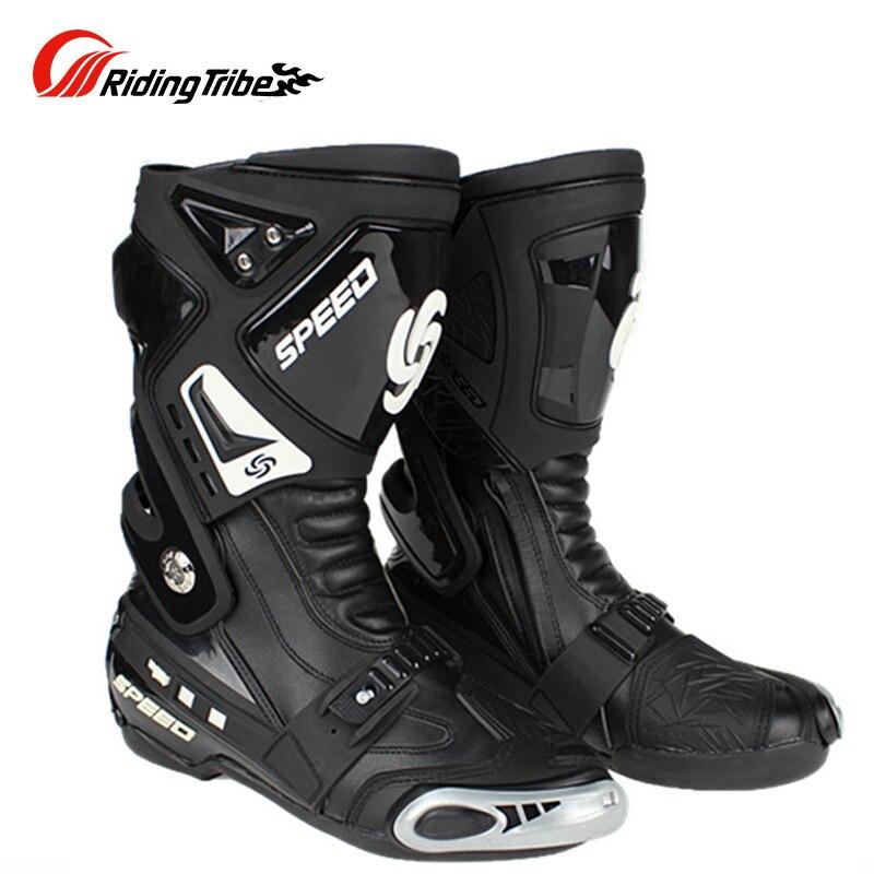 دراجة نارية حذاء ركوب أحذية الرجال موتوكروس حامي أحذية طويلة موتوكروس أحذية موتو بوتاس واقية