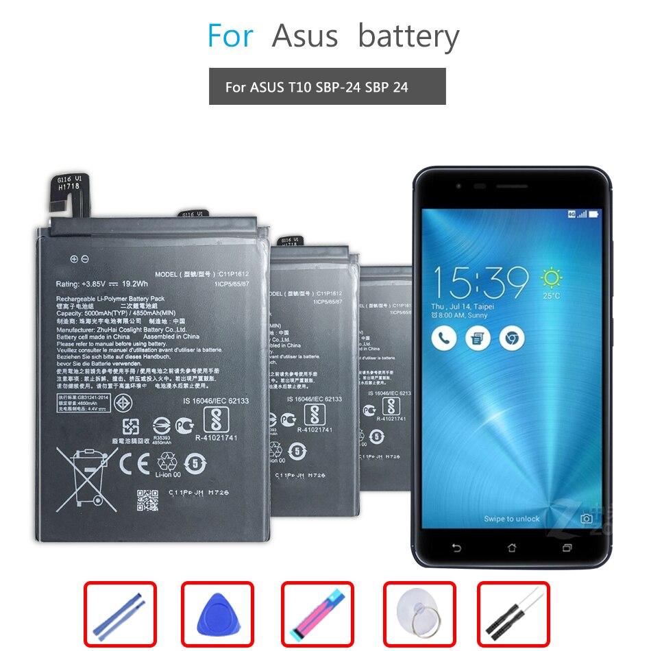 Batería del teléfono móvil para la Asus ZE553KL... ZenFone 3 Zoom ZenFone...