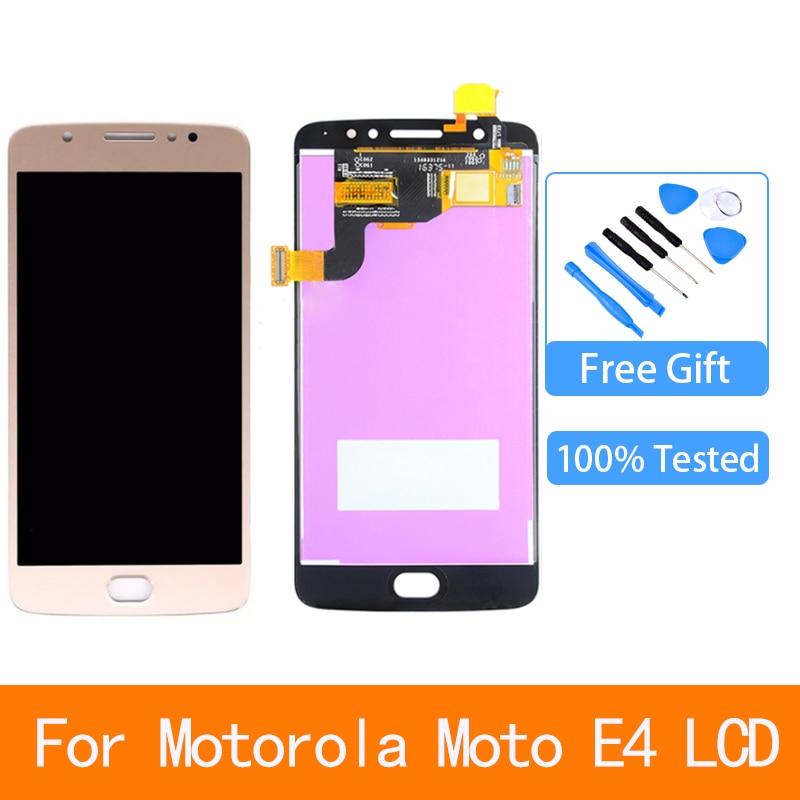 50 para motorola moto e4 display lcd tela de toque digitador assembleia substituicao