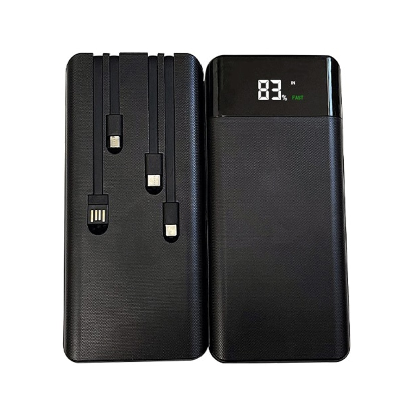LCD Display 7x18650/18700/20700/21700 Battery Case Power Bank Shell External Box QC3.0 FAST Charge P