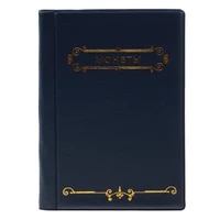 120 Pockets 10 Page Coin Storage Album Collecting Wallet Book