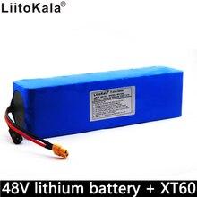 Liitokala nouvelle batterie au lithium 48V XT60 connecteur 54.6V 10000mAh BMS vélo électrique intégré 10Ah grande capacité