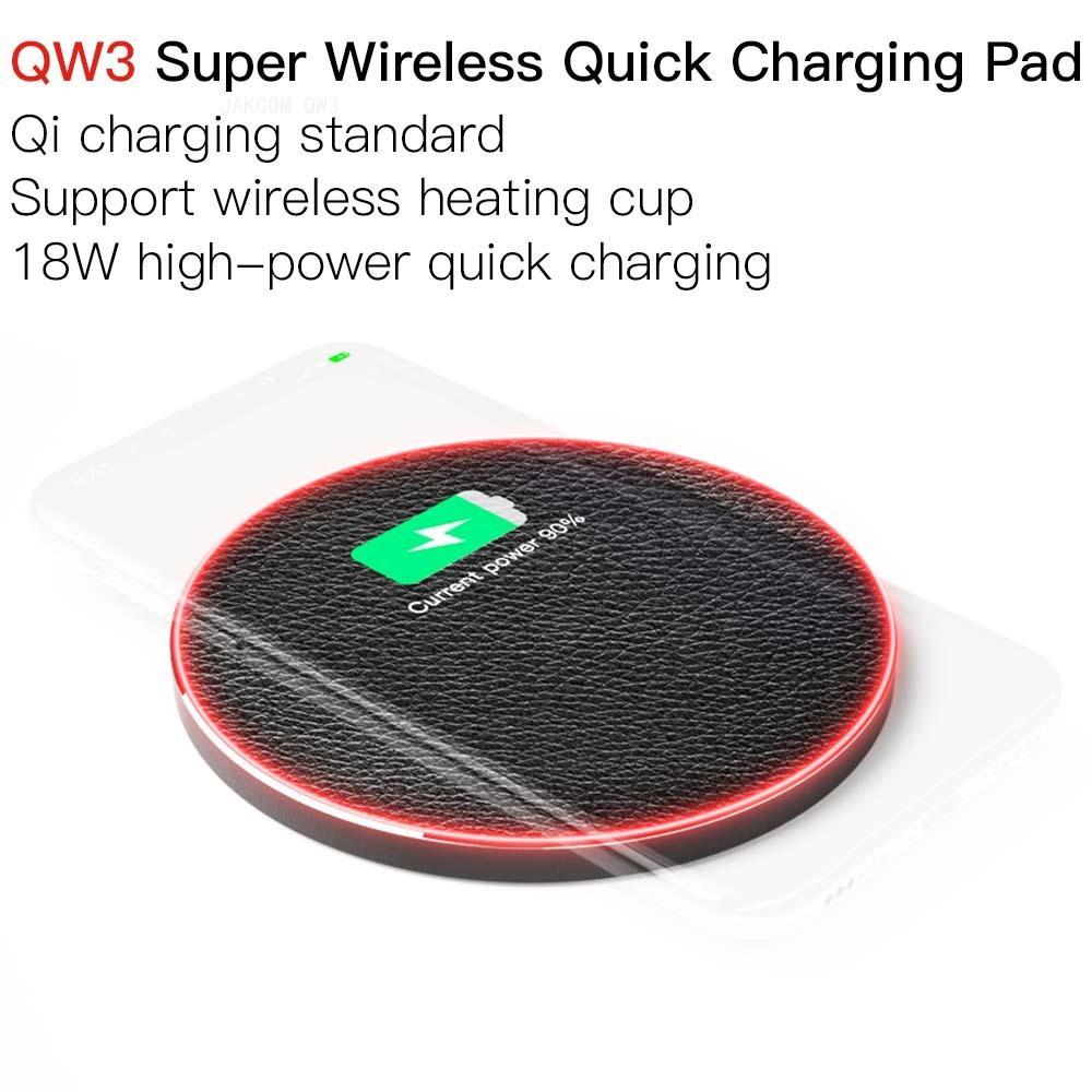 Almohadilla de carga rápida súper inalámbrica JAKCOM QW3, supervalue que los cargadores de teléfono móvil esterilizadores uv, receptor de carga inalámbrico