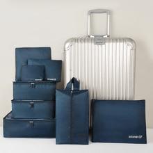 8pcs Set Travel Organizer Suitcase Storage Bag Set High Quality Luggage Packing Bags Clothes Shoes P