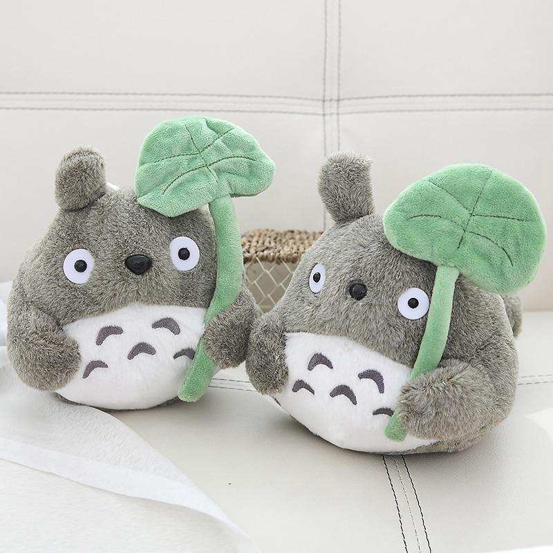Kawaii Plush Toy Stuffed Animals Plush Lotus Leaf Totoro Cartoon Plushie Soft Toys For Girls Kids Birthday Gifts Special Discount 5dddea Cicig