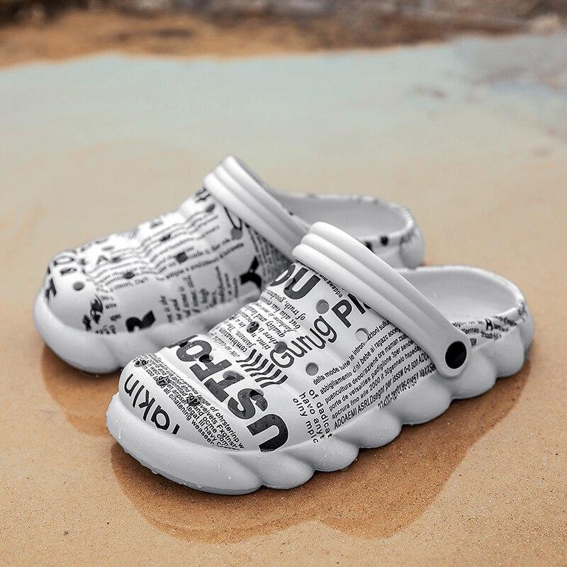 Sandália para Luxo Sapatos de Verão dos Homens Homem Clappers Clapper Sandálias Romanas Casuais 2021