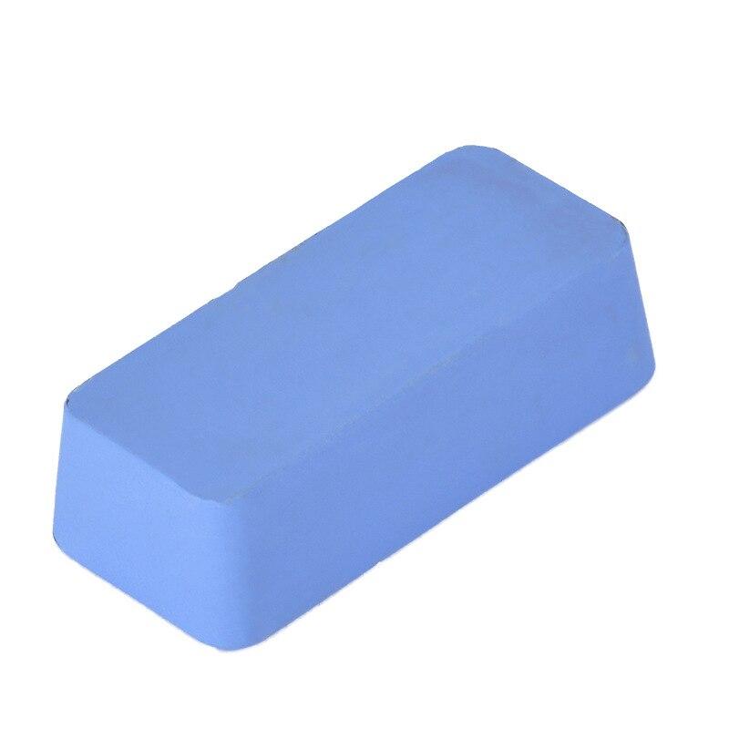 Cera lucidante per metalli in acciaio inossidabile in pasta solida - Abrasivi - Fotografia 4