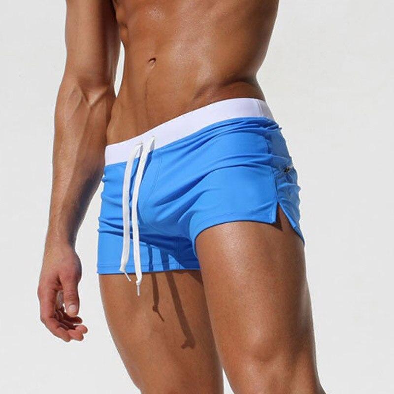 Traje de baño de verano para hombre, bañadores para nadar, Mini Boxer de talla grande
