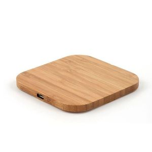 Portable Qi Wireless Charger Charging Slim Wood Pad For iPhone 8/iPhone 8 Plus/iPhone X Smart Phone Wireless Charger Pad For Sam