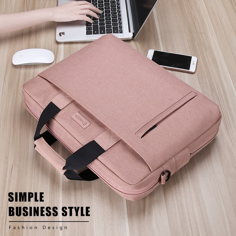 Laptop Bag case 13.3 14 15.6 17.3 Inch Waterproof Notebook Bag for Macbook Air Pro 13 15 Computer Shoulder Handbag Briefcase Bag