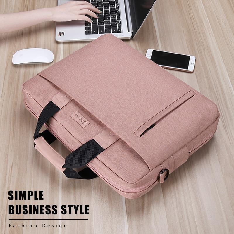 Laptop Bag case 13.3 14 15.6 17.3 inch Waterproof Notebook Bag for Macbook Air Pro 13 15 Computer Shoulder Handbag Briefcase Bag