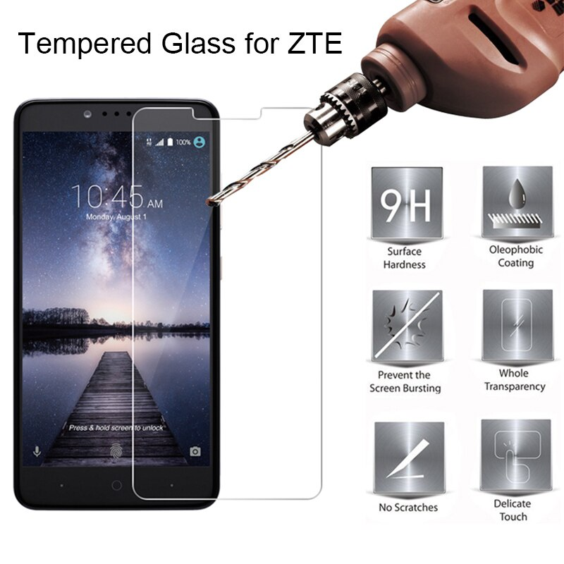 Vidrio templado para ZTE Nubia Z17 Lite Z17S Protector de pantalla en Nubia Z11 Max Z18 Mini vidrio Protector para ZTE Nubia Z11 Mini S