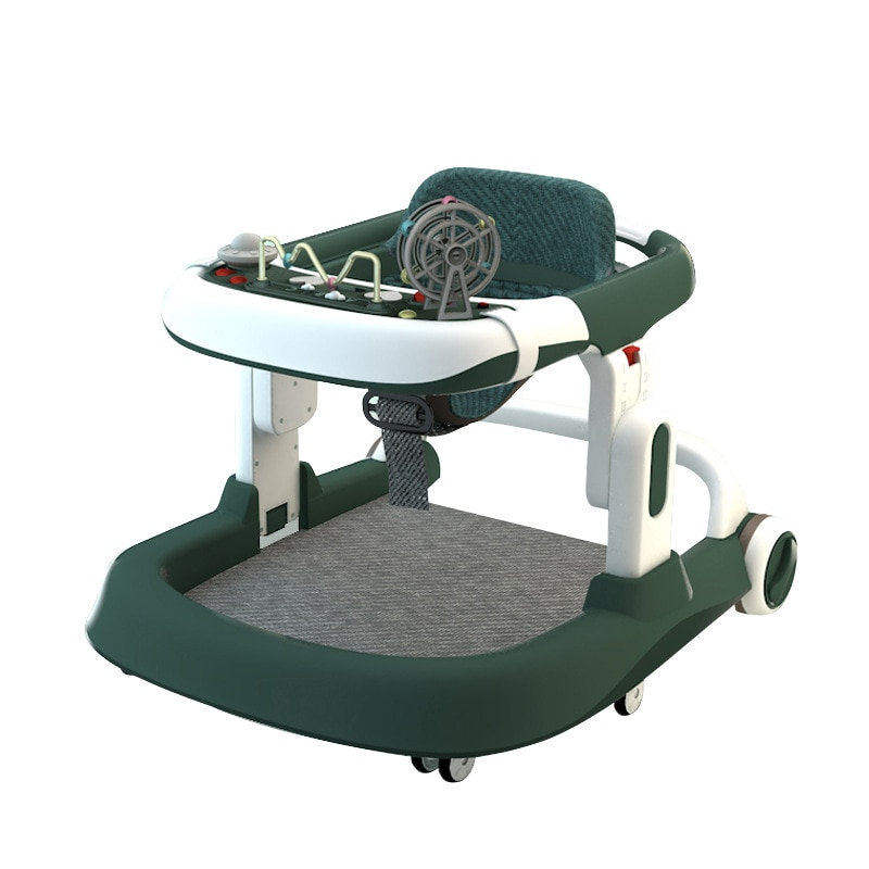 Basic Baby Walker Anti-o-leg Anti-rollover Can Sit and Push Baby and Child U-shape Adjustable Speed enlarge
