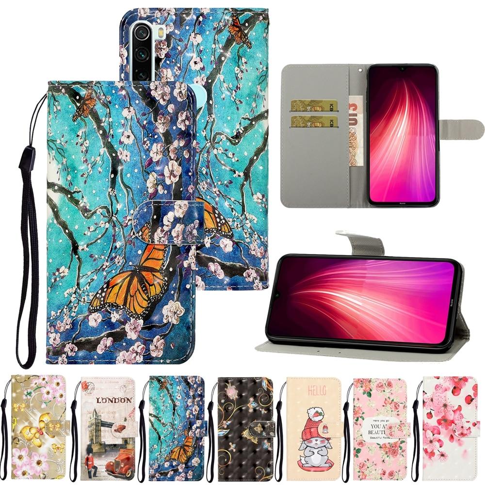 Redmi Note 8 Case on for Coque Xiaomi Redmi Note 8 7 6 Pro Leather Flip Case for Xiaomi Redmi 8A Cover wallet magnetic Fundas