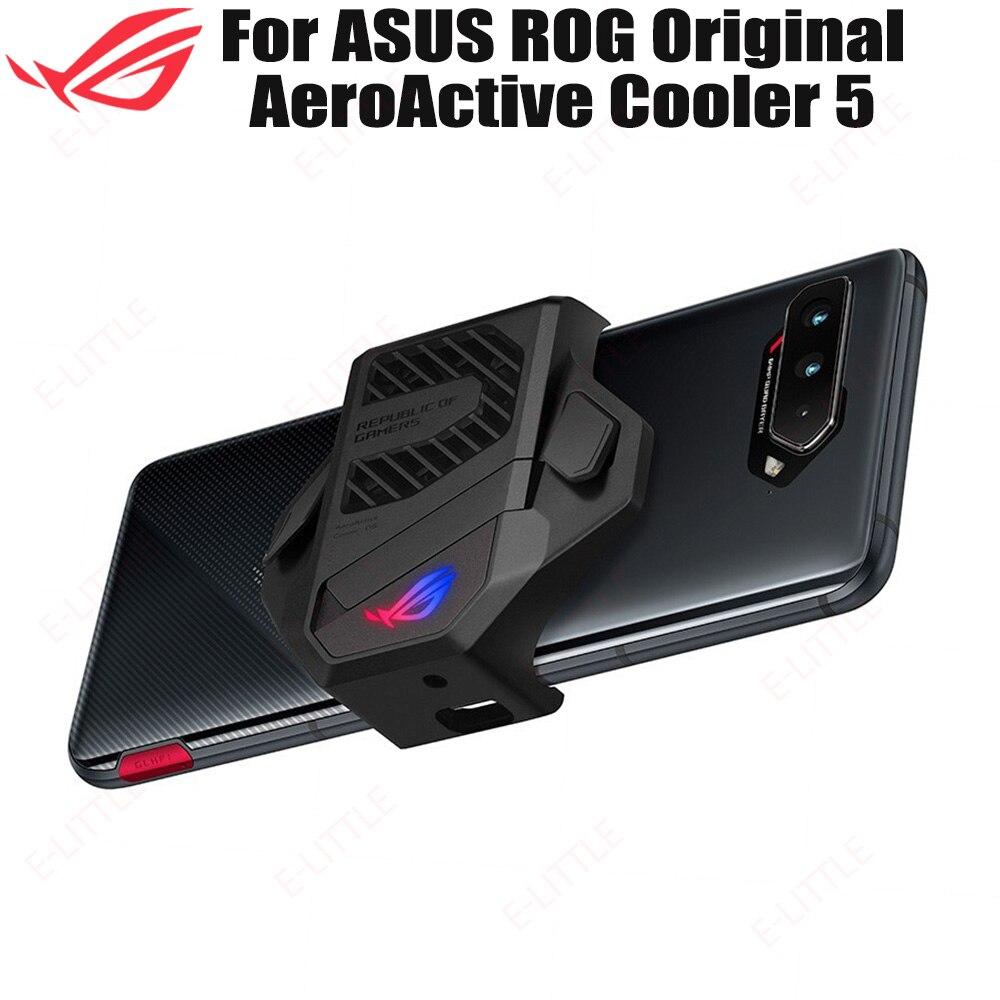 ASUS-مروحة تبريد للهاتف الذكي ROG 5 Aero ، ملحقات أصلية جديدة ، متوافقة مع تأثير Aura Light