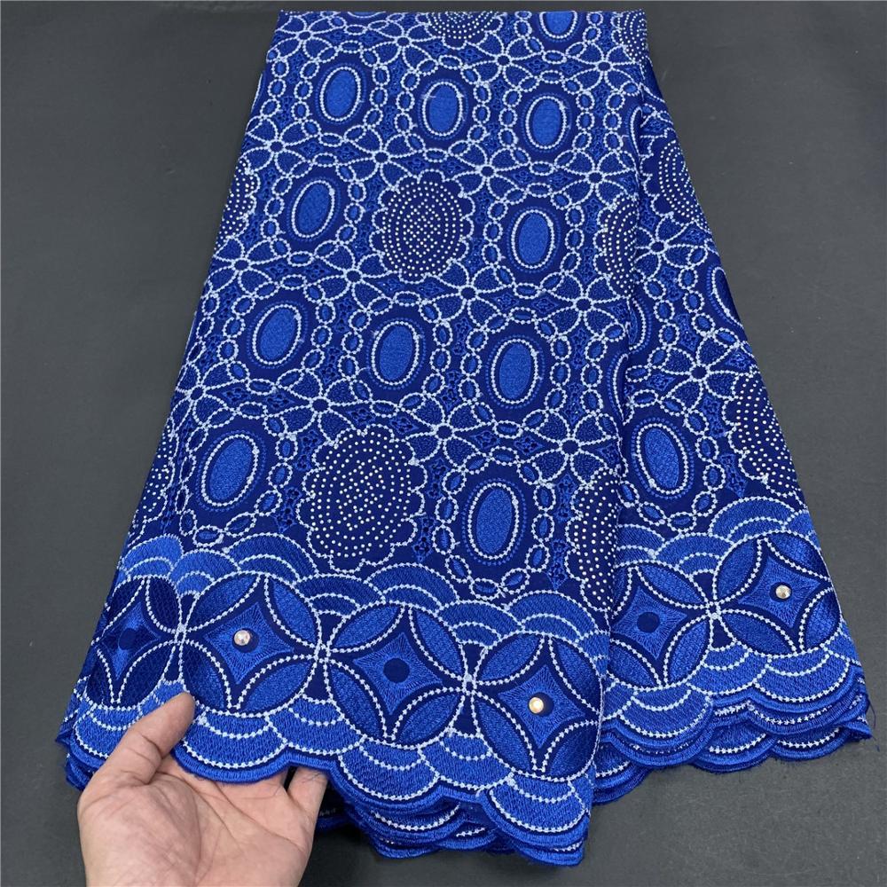 فستان رسمي للحفلات الراقصة من قماش التول النيجيري الأفريقي من قماش الدمشقي السويسري من القطن 2021 ياردة من أحدث موديلات عام 2.5 بجودة عالية