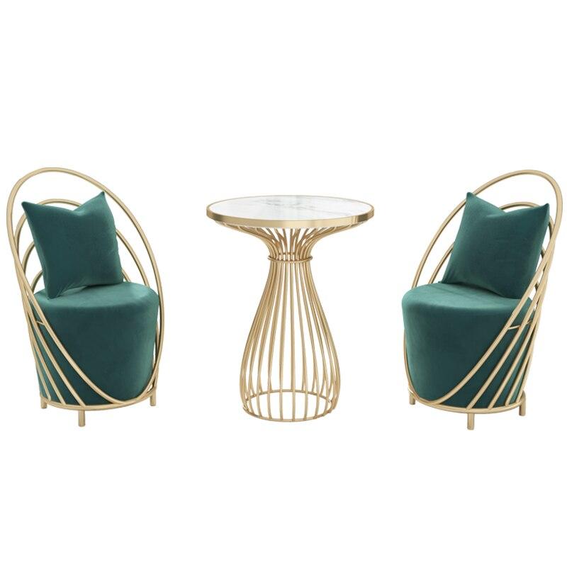 Скандинавские стулья, кофейный столик, набор из 2 простых предметов, стиль Инопланетянин, деловая мебель, мраморные письменные столы для при... складные письменные столы для школьника купить