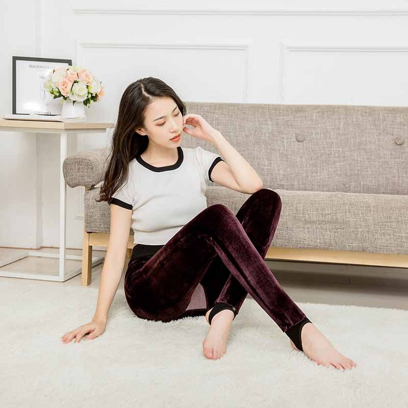 Female Seamless Underwears  Winter Clothing Long Johns For Women Thermal Underwear Warm Johns Intima