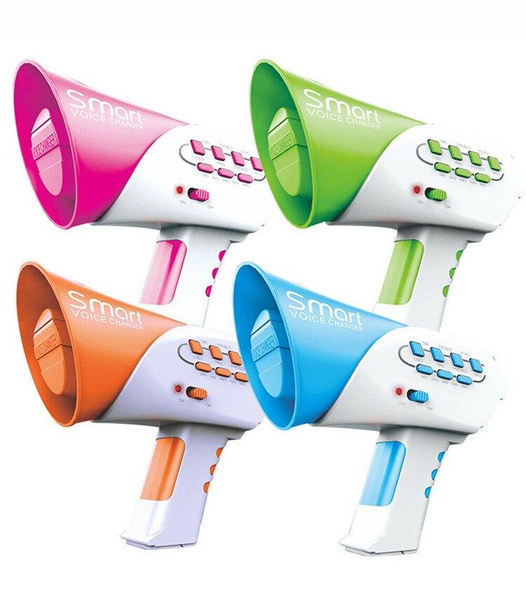 Изменение голоса, многофункциональный преобразователь голоса для детей с 7 различными голосовыми модификаторами, для мальчиков и девочек, ...