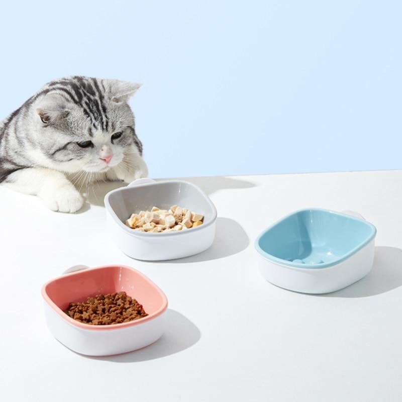 Tazón de perro de plástico suave y saludable, Alimentador de comida lento,...
